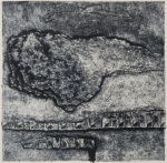 Confrontation Carborundum 10x10cm