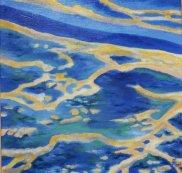 Lagune Acrylique 40x40cm