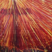 Resurrection Batik 90x90cm