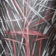 Trois heures de ténèbres Batik 90x125cm